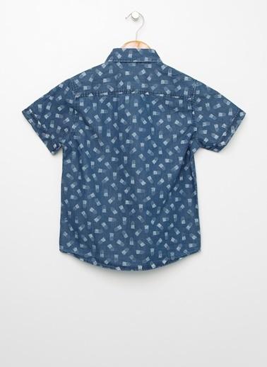 Limon Company Jean Gömlek İndigo